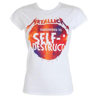 t-shirt metal donna Metallica - Glitch Ball -, Metallica