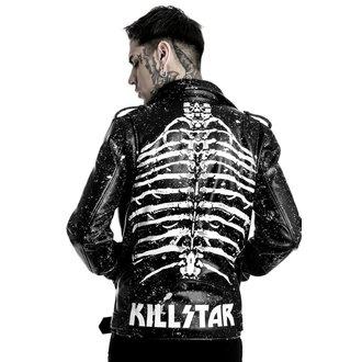 giacca di pelle - Morgue Master - KILLSTAR - K-JKT-M-2135