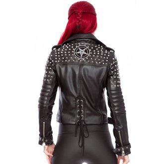 giacca di pelle donna - Baphomet - KILLSTAR, KILLSTAR