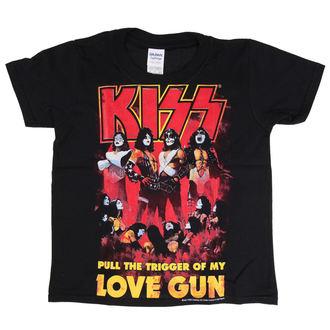 t-shirt metal uomo bambino Kiss - Love Gun - LOW FREQUENCY, LOW FREQUENCY, Kiss