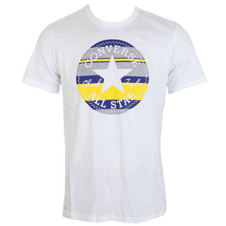 t-shirt street uomo - Stripe Fill CP Tee - CONVERSE, CONVERSE
