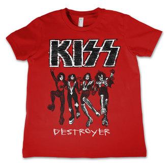 t-shirt metal uomo bambino Kiss - Destroyer - HYBRIS, HYBRIS, Kiss