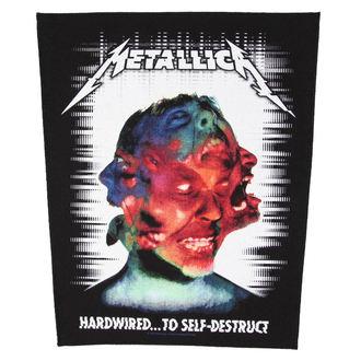 toppa METALLICA - HARDWIRED TO SELF DESTRUCT - RAZAMATAZ, RAZAMATAZ, Metallica