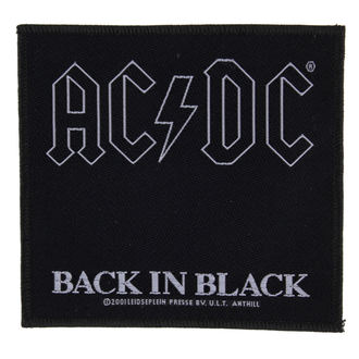 toppa  AC  /  DC  - BACK IN BLACK - RAZAMATAZ - SP1512