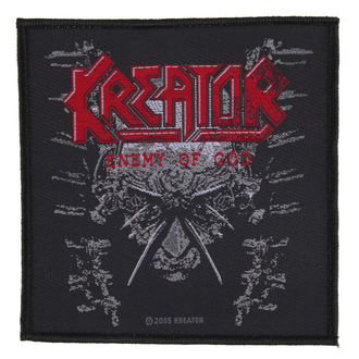 toppa KREATOR - ENEMY OF GOD - RAZAMATAZ, RAZAMATAZ, Kreator