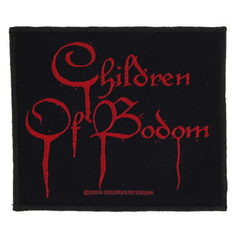 toppa CHILDREN OF BODOM - BLOOD LOGO - RAZAMATAZ, RAZAMATAZ, Children of Bodom
