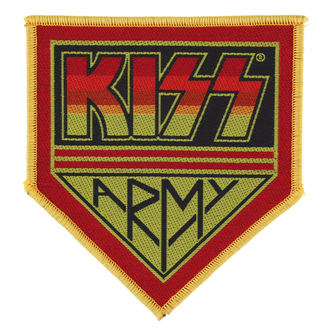 toppa KISS - KISS ARMY BADGE - RAZAMATAZ, RAZAMATAZ, Kiss