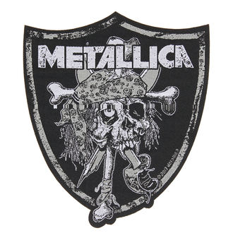 toppa METALLICA - RAIDERS SKULL - RAZAMATAZ, RAZAMATAZ, Metallica