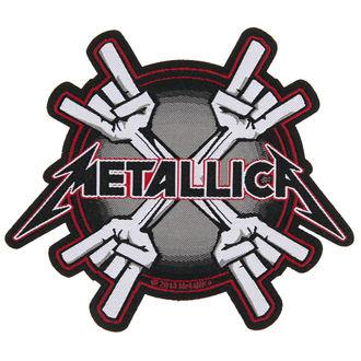 toppa METALLICA - METAL HORNS - RAZAMATAZ, RAZAMATAZ, Metallica