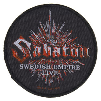 toppa SABATON - SWEDISH EMPIRE LIVE - RAZAMATAZ, RAZAMATAZ, Sabaton