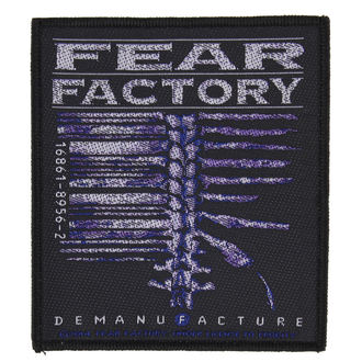 toppa FEAR FACTORY - DEMANUFACTURE - RAZAMATAZ, RAZAMATAZ, Fear Factory