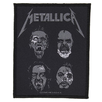 toppa METALLICA - UNDEAD - RAZAMATAZ, RAZAMATAZ, Metallica