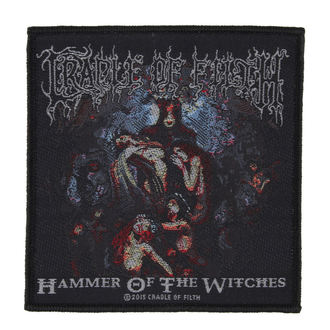toppa CRADLE OF FILTH - HAMMER OF THE WITCHES - RAZAMATAZ, RAZAMATAZ, Cradle of Filth