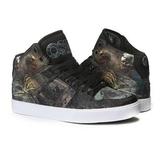 scarpe da ginnastica alte donna unisex - Nyc 83 Vulc Huit/Skull/Army - OSIRIS, OSIRIS