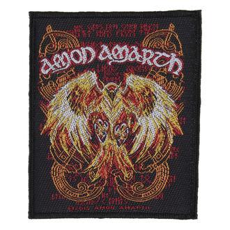 toppa AMON AMARTH - PHOENIX - RAZAMATAZ, RAZAMATAZ, Amon Amarth