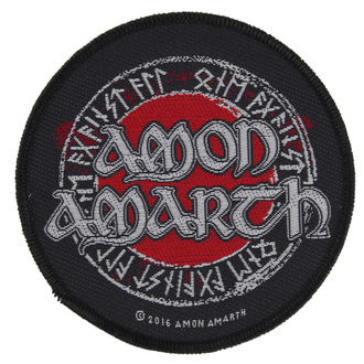 toppa AMON AMARTH - RUNES - RAZAMATAZ, RAZAMATAZ, Amon Amarth