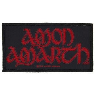 toppa AMON AMARTH - RED LOGO - RAZAMATAZ, RAZAMATAZ, Amon Amarth