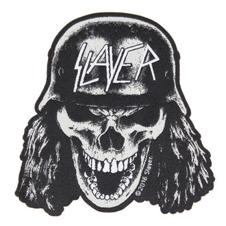 toppa SLAYER - VVEHRMACHT SKULL CUT OUT - RAZAMATAZ, RAZAMATAZ, Slayer
