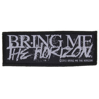 toppa BRING ME THE HORIZON - HORROR LOGO - RAZAMATAZ, RAZAMATAZ, Bring Me The Horizon