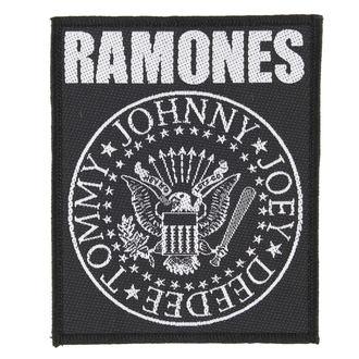 toppa RAMONES - CLASSIC SEAL - RAZAMATAZ, RAZAMATAZ, Ramones