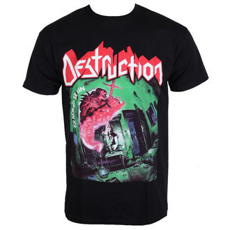 t-shirt metal uomo Destruction - Cracked Brain - NNM, NNM, Destruction