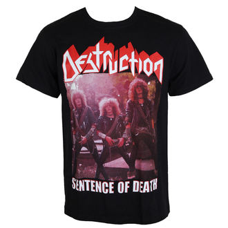t-shirt metal uomo Destruction - Sentence Of Death - MASSACRE RECORDS, MASSACRE RECORDS, Destruction