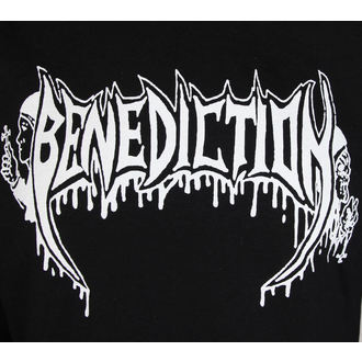 felpa con capuccio donna Benediction - Old School -, Benediction