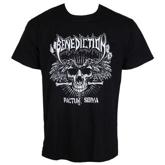t-shirt metal uomo Benediction - Pactum Serva -, Benediction