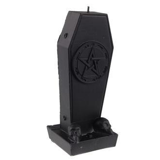 candela Bara con Pentagramma - Black Matt