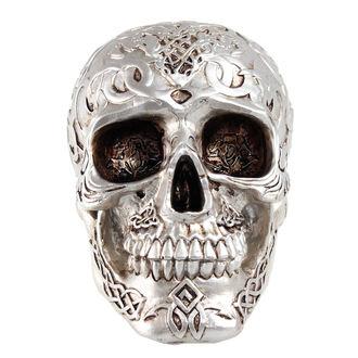 Decorazione cranio (scatola) Mistico Ornamento Cranio - ARGENTO, NNM
