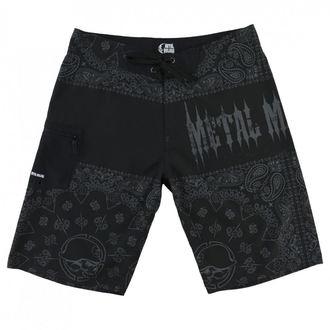Costume a Pantaloncini da uomo  METAL MULISHA - REPRESENT - BLK, METAL MULISHA