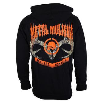 felpa con capuccio uomo - DUSK - METAL MULISHA, METAL MULISHA