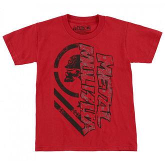 t-shirt street uomo bambino - BURN - METAL MULISHA, METAL MULISHA