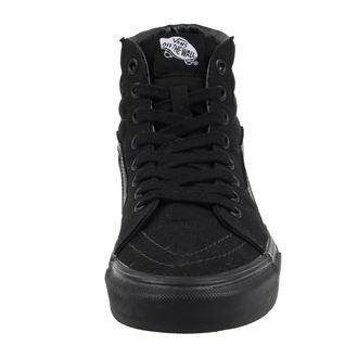 scarpe da ginnastica alte uomo donna - UA SK8-HI Black/Black/Black - VANS, VANS