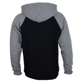 felpa con capuccio uomo - 88 TC Raglan Black/ Dark Heather - INDEPENDENT, INDEPENDENT