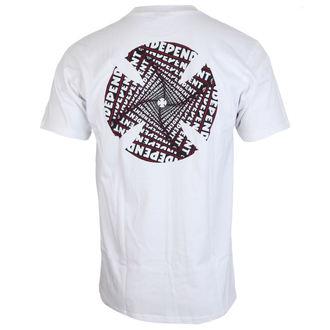 t-shirt street uomo - Spiral White - INDEPENDENT, INDEPENDENT