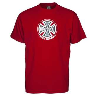 t-shirt street uomo - Truck Co Cardinal Red - INDEPENDENT, INDEPENDENT