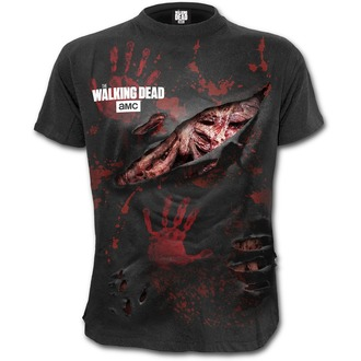 t-shirt film uomo The Walking Dead - ZOMBIE - SPIRAL, SPIRAL
