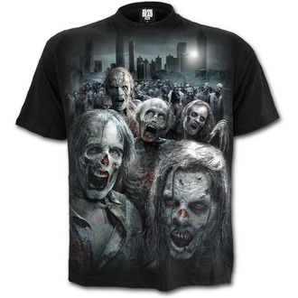 t-shirt film uomo The Walking Dead - ZOMBIE HORDE - SPIRAL, SPIRAL, The Walking Dead