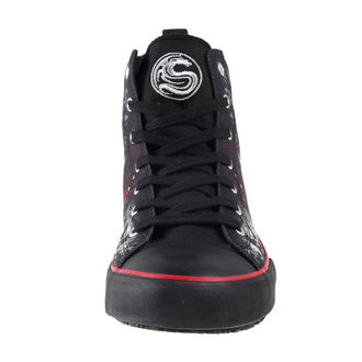 scarpe da ginnastica alte uomo - DEATH BONES - SPIRAL, SPIRAL