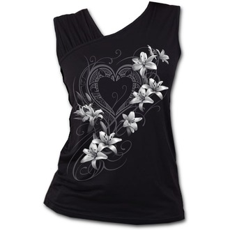top donne SPIRAL - PURE OF HEART - Nero, SPIRAL