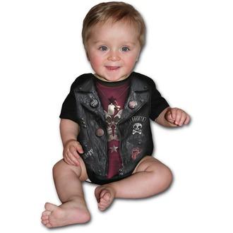 Body bambini SPIRAL - BABY BIKER - Nero, SPIRAL