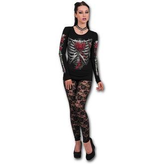 t-shirt donna - ROSE BONES - SPIRAL, SPIRAL