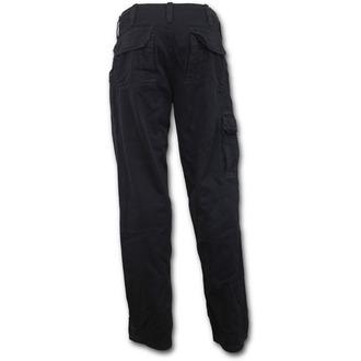 pantaloni uomini SPIRAL - METAL STREETWEAR - Nero, SPIRAL