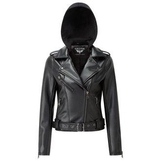 giacca di pelle donna - Ruth Less Veganomicon Biker - KILLSTAR