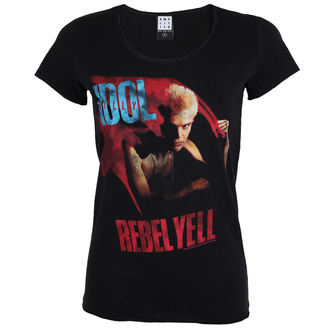 t-shirt metal donna Billy Idol - billy idol - AMPLIFIED, AMPLIFIED, Billy Idol
