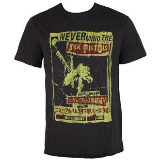 t-shirt metal uomo Sex Pistols - SEX PISTOLS - AMPLIFIED, AMPLIFIED, Sex Pistols