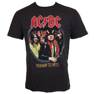t-shirt metal uomo AC-DC - ACDC - AMPLIFIED, AMPLIFIED, AC-DC