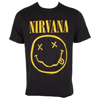t-shirt metal uomo Nirvana - NIRVANA - AMPLIFIED, AMPLIFIED, Nirvana