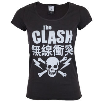 t-shirt metal donna Clash - THE CLASH BOLT - AMPLIFIED, AMPLIFIED, Clash